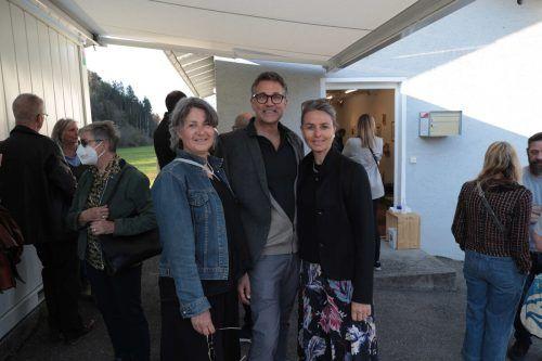 Monika Grabher, Gerhard (RSB) und Kirstin Sutter.