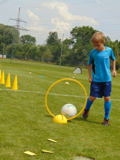 Nachwuchsfußballer erwartet eine Woche Sport, Spiel und Spaß.Archiv