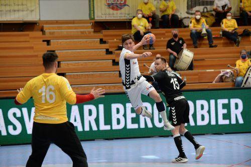 Nur ein Treffer gelang dem Bregenzer Christoph Kornexl.Ibele