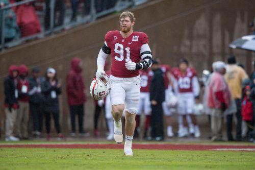 Öffnet sich für Footballer Thomas Schaffer im Draft die Türe zur NFL?apa