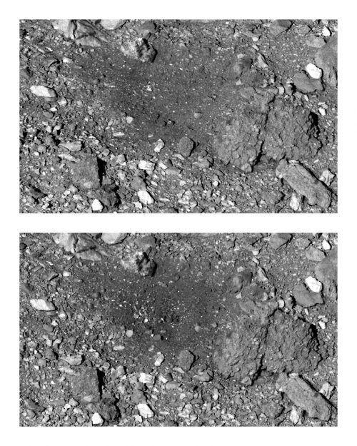 """""""Osiris-Rex"""" hat Materialproben auf dem Asteroiden Bennu genommen. AP"""