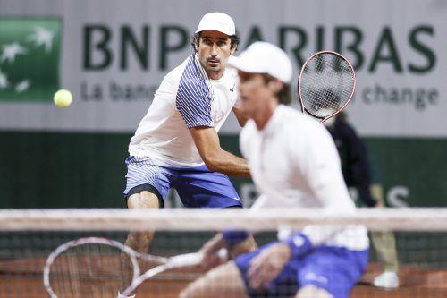 Oswald (l.) und Daniell bereiten sich in München auf die French Open vor.GEPA