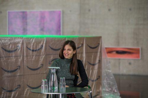 """Pamela Rosenkranz: """"Es ist ja auch so, dass Kunst sozial erfahrbar wird."""" vn/steurer"""