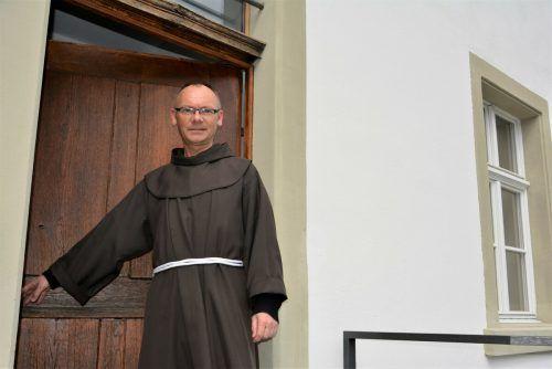 Pater Maxentius sieht mit Freude auf sein silbernes Priesterjubiläum, das für den 26. Juni geplant ist.eh