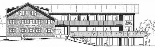 Pläne wurden in der Pandemiezeit realisiert: Mit Umbau und Erweiterung soll das Berghaus Kanisfluh für die nächsten Jahre gerüstet sein.muxelplan.at