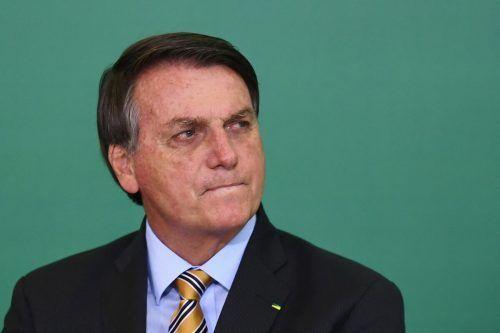 Präsident Jair Bolsonaro machte die Zusage in einem Brief an US-Präsident Biden. AFP
