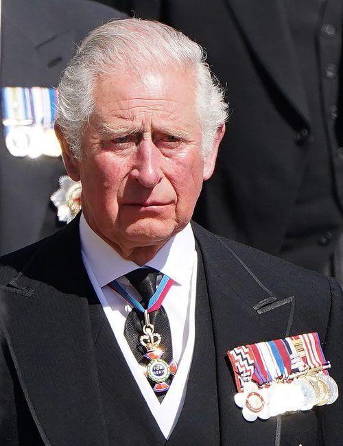 Prinz Charles wirkte besonders ergriffen.