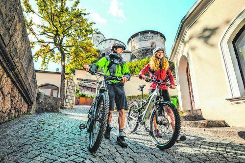 Radeln und dabei die verschiedensten Orte im Kufsteinerland entdecken. Mit den zahlreichen Radwegen ist das kein Problem.Mathäus Gartner (2)