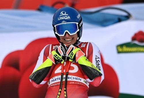Rang fünf im Super-G von Garmisch kam für Christine Scheyer etwas überraschend.APA