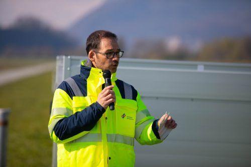 Rhesi-Projektleiter Markus Mähr erklärt.