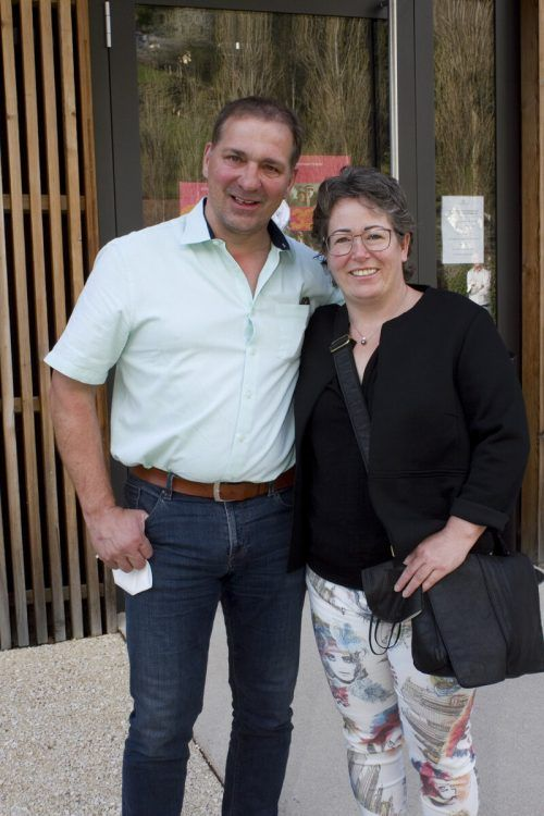 Robert und Birgit Franz kamen in den Kaschmir-Club.