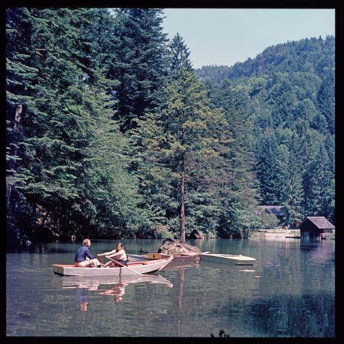 Satteins, Schwarzer See, 1973