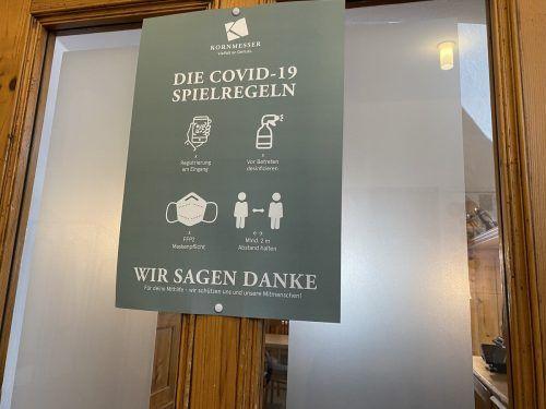 Seit 15. März dürfen Vorarlberger wieder essen gehen. VOL/Mayer