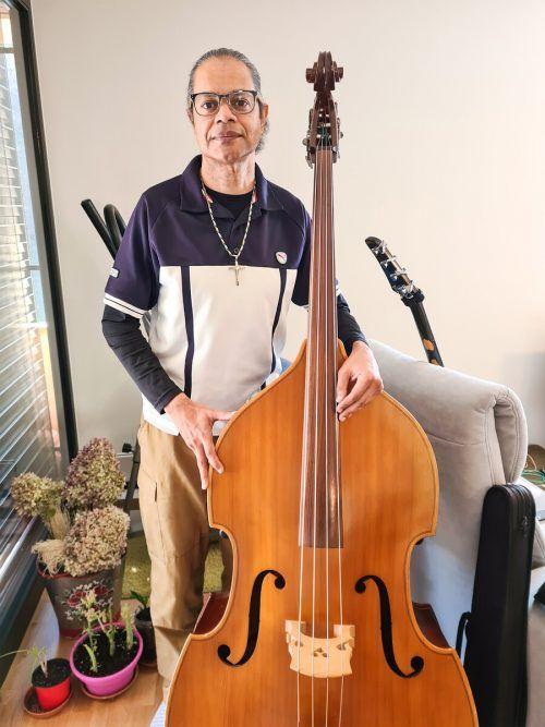 Sergio Wagner ist nichts nur ein Held, sondern auch professioneller Musiker. VN/BÖCKEN