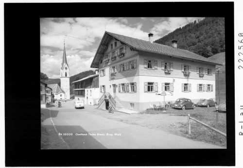 So sah das Gasthaus Traube früher einmal aus.