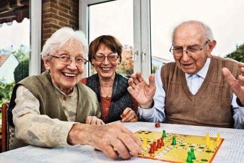 Spiel und Spaß werden bei den Seniorenerholungswochen in St. Gallenkirch und Bizau auch heuer wieder ganz großgeschrieben.Caritas