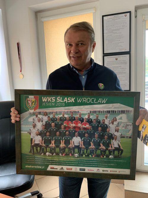 Spieler, Trainer, Sportdirektor – Slask Breslau ist der Klub von Teddy Pawlowski.adam