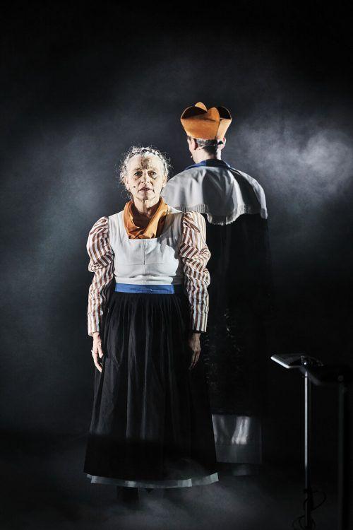 """""""Sprich nur ein Wort"""" von Maximilian Lang wurde am Freitagabend am Vorarlberger Landestheater uraufgeführt. LT/köhler"""