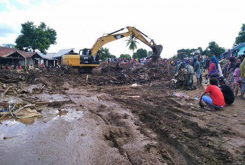 Starke Regenfälle hatten Sturzfluten und Erdrutsche ausgelöst. ap