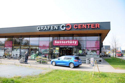 Sutterlüty im Harder Grafencenter möchte die Verkaufsfläche erweitern. AJK/2