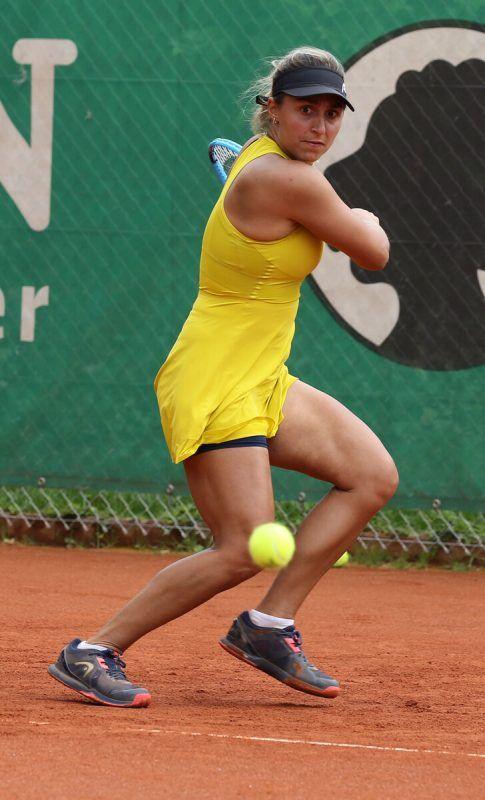 Tamira Paszek beendete 2021 acht ihrer 13 Turnierspiele siegreich.Hartinger