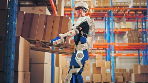 Technologische Entwicklungen wie Exoskelette sind auf dem Vormarsch. Foto: shutterstock