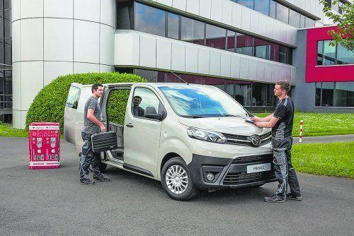 Toyota steht für innovative Technologien im Nutzfahrzeugbereich. Aktuelles Beispiel: der neue Proace. Foto: Toyota
