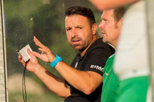 Trainer Klaus Nussbaumer will sich verändern und verlässt den FC Rotenberg.VN-Stiplovsek