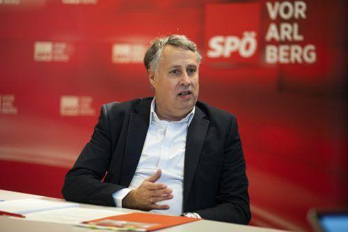 Vielleicht bald Parteichef? Thomas Hopfner wird Vollzeitpolitiker. VN/RP