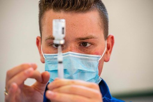 Von Donnerstag bis Montagabend kommen dieses Mal die Impfstoffe von Biontech/Pfizer und Moderna zum Einsatz.AFP
