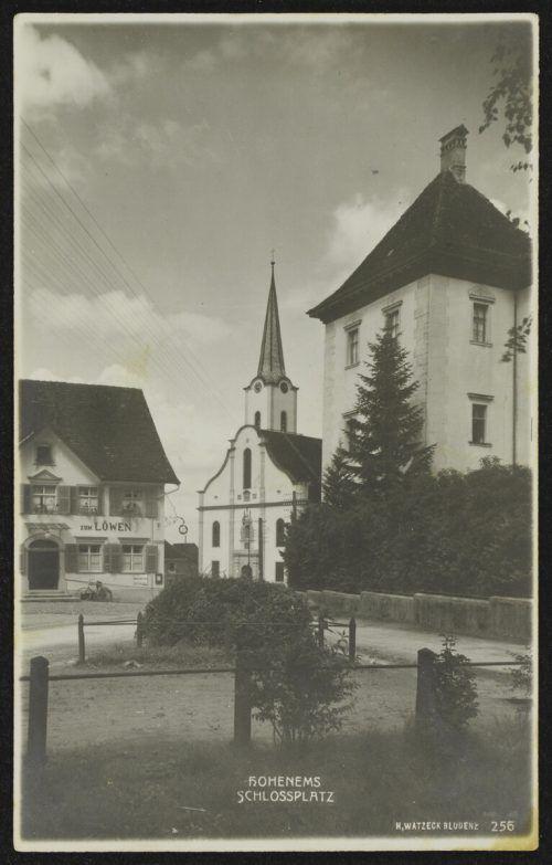 Vor 1926 sah der Platz noch ganz anders aus.