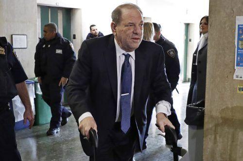 Weinstein selbst hat alle Vorwürfe gegen ihn bestritten. ap
