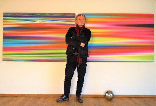 """Werner """"Marxx"""" Bosch gründete und leitet die Galerie K12 in der Bregenzer Kirchstraße. YAS/3"""