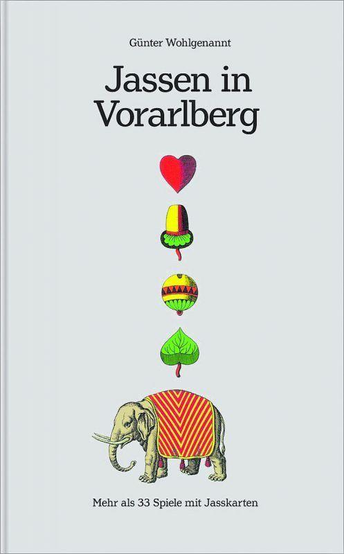 """Zu den Bestsellern im VN Online-Shop gehört das Buch """"Jassen in Vorarlberg"""". vn"""