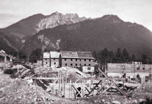 Zu den wichtigsten Wohnbauprojekten der NS-Diktatur in Vorarlberg gehörte die Südtiroler Siedlung in Bludenz.VN-ARchiv, Concin