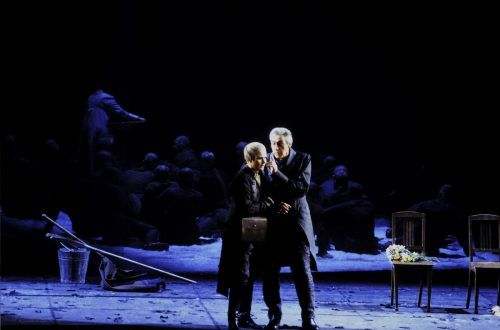 """Züricher Oper bietet eine herausragende """"Fidelio""""-Produktion online.Oper/Schlegel"""