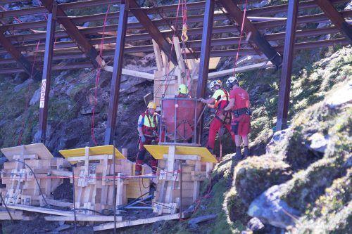 Zur Sicherung der Arlbergbahnstrecke vor Naturgefahren werden heuer seitens der ÖBB wichtige bauliche Schutzmaßnahmen durchgeführt.ÖBB