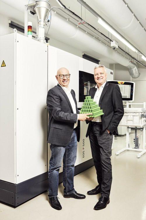 1zu 1-GF Hannes Hämmerle (li.) und Wolfgang Humml. FA/DT