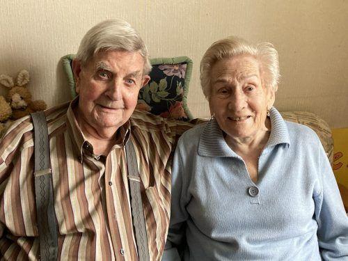 65 Ehejahre feiern die Jubilare im kleinen Familienkreis. privat