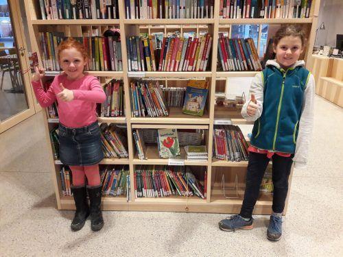 8500 Medien stehen für alle Nüziger Leseratten in der Bibliothek im Bildungscampus bereit.Gemeinde