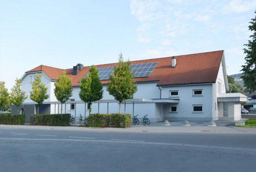 Ab heute, 1. Juni: Selbsttests unter Aufsicht im Wolfurter Vereinshaus. hapf