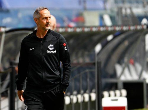Ab Sommer arbeitet Adi Hütter als Chefcoach bei Mönchengladbach.ap