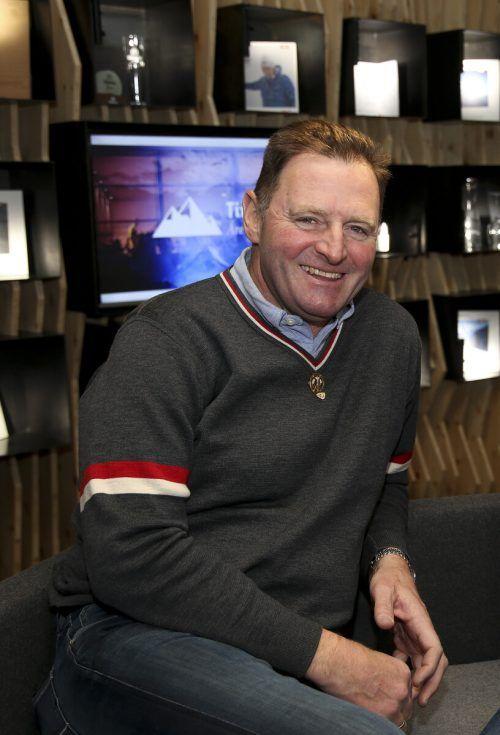 Abfahrts-Olympiasieger Patrick Ortlieb war für Peter Schröcksnadel die erste Wahl als Nachfolger für das ÖSV-Präsidentenamt.GEPA