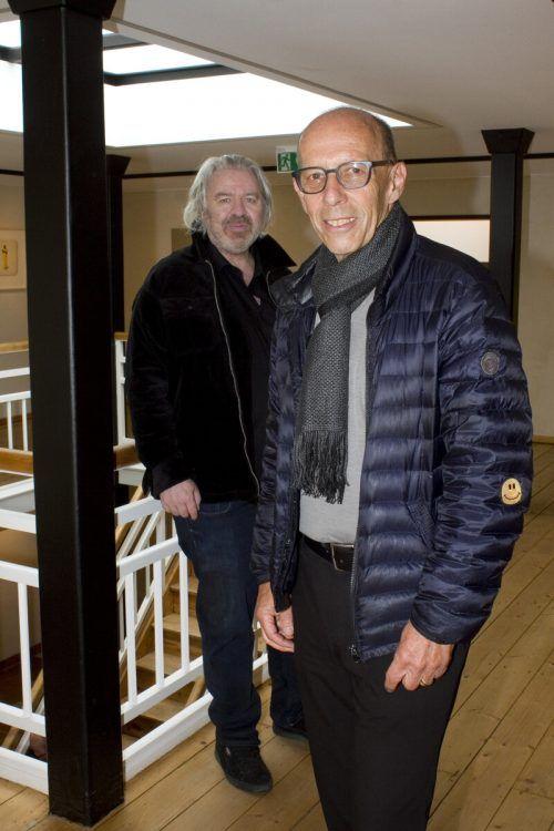 Alexander Waltner (l.) und Stadtrat Michael Rauth.