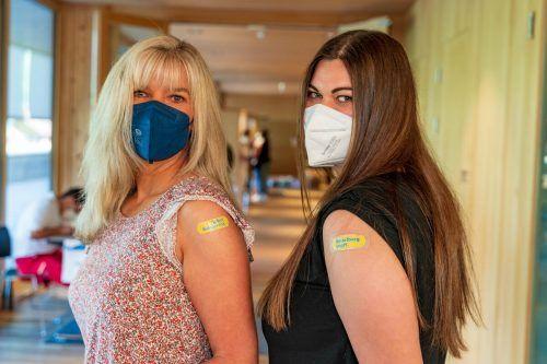 Allein in der vergangenen Woche hatten 20.500 ihren Impftermin. VN/Stiplovsek