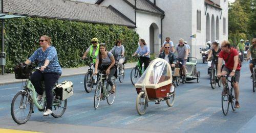 Am 8. Mai findet eine Radsternfahrt nach Feldkirch statt.Radlobby Vorarlberg