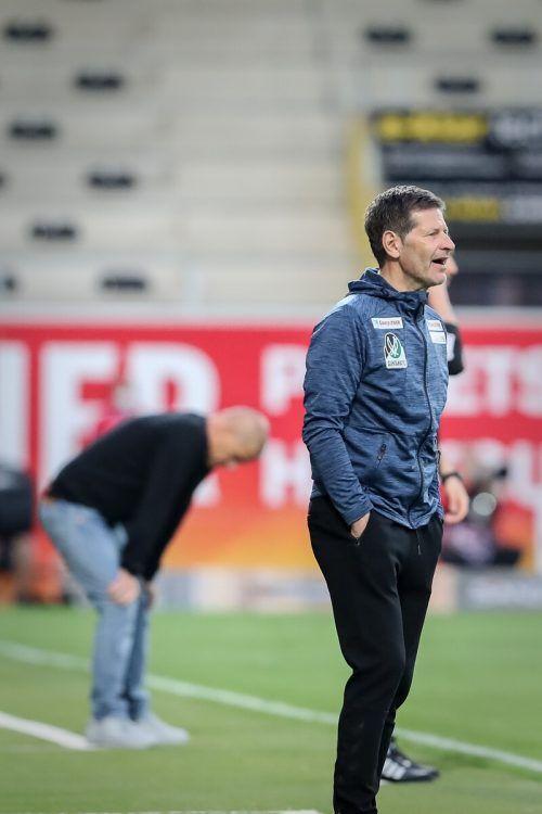 Andreas Heraf bewahrte die SV Ried vor dem Abstieg in die 2. Liga.gepa