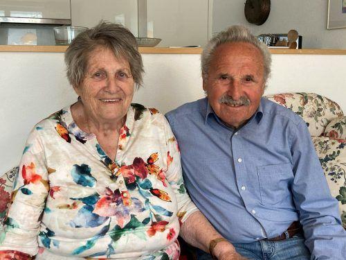 Annelies und Helmut Entner blicken zufrieden auf 60 Ehejahre zurück.
