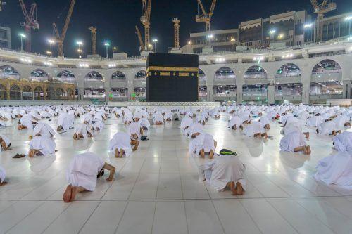 """Auch heuer soll es in Mekka ein """"sicheres Umfeld"""" geben. Saudi Press Agency"""