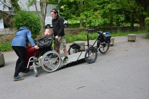 Auch Rollstuhlfahrer können an den Fahrradausflügen teilnehmen. BVS (2)